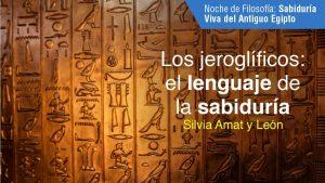Los jeroglíficos, el lenguaje de la sabiduría