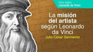 La misión del artista según Leonardo da Vinci