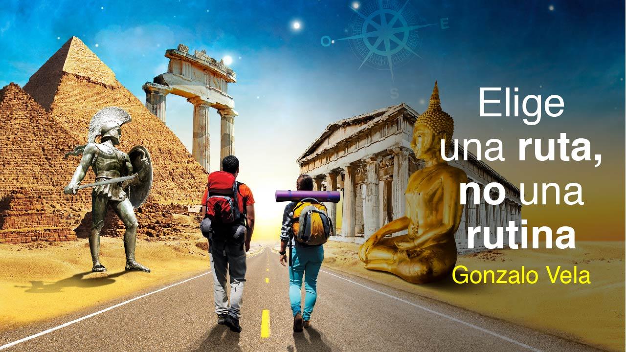 Elige una ruta, no una rutina